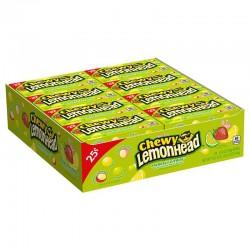 Chewy Lemonheads Fiercely Citrus 24 x 22g