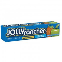 Jolly Rancher Strawberry & Green Apple 12 x 34g