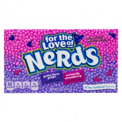 Wonka Strawberry & Grape Nerds 141g