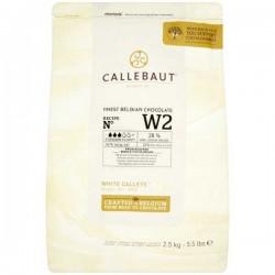 Callebaut 28% Cocoa White Chocolate Drops 2.5kg
