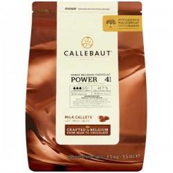 Callebaut 41% Cocoa Milk Chocolate Drops 2.5kg