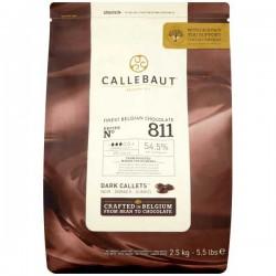 Callebaut 55% Cocoa Dark Chocolate Drops 2.5kg
