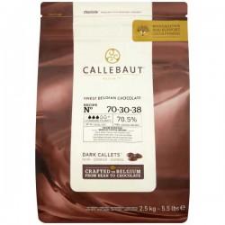 Callebaut 70% Cocoa Dark Chocolate Drops 2.5kg