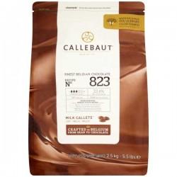 Callebaut 33% Cocoa Milk Chocolate Drops 2.5kg