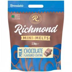 Richmond Mini Melts Milk Chocolate 2.5kg