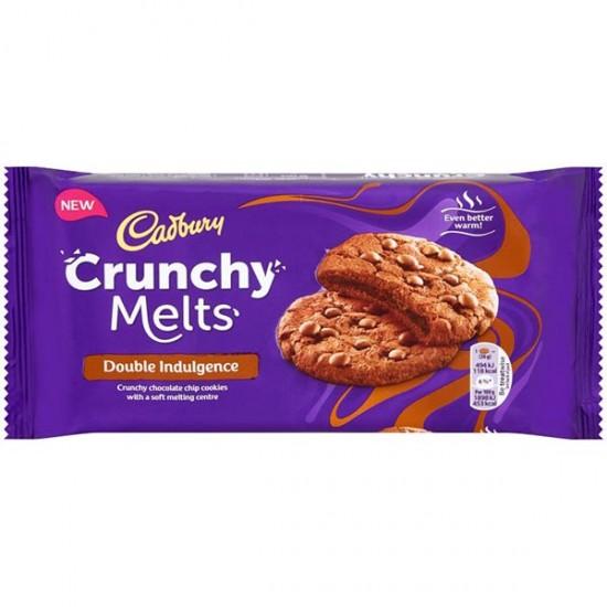 Cadbury Crunchy Melts Double Chocolate 12 x 156g