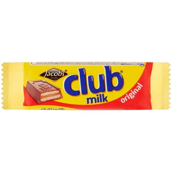 Jacob's Club Milk: 60-Piece Box