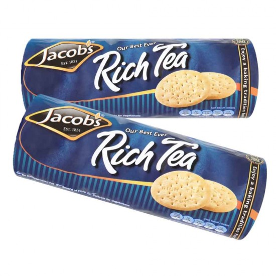 Jacob's Rich Tea: 20-Piece Box