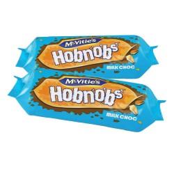 McVities Milk Chocolate Hobnobs: 12-Piece Box