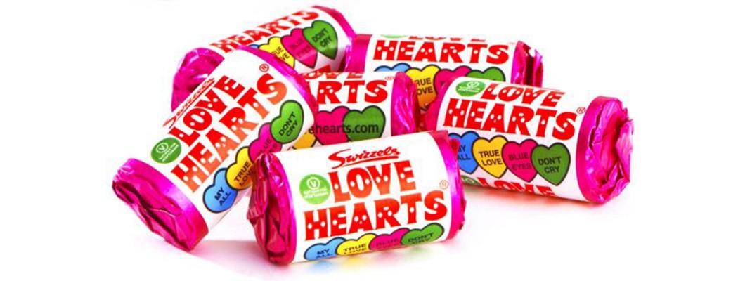 Sweet Shop Favourites: Love Heart Sweets