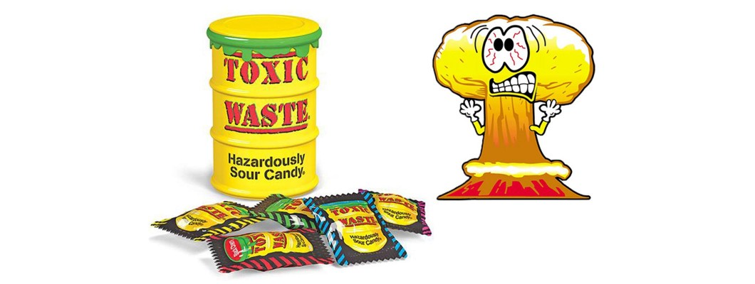 Toxic Waste Candy - Are You Up To The Challenge?