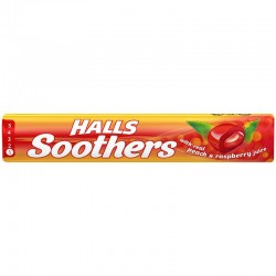 Halls Soothers Peach & Raspberry 20 x 45g