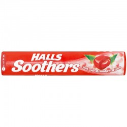 Halls Soothers Strawberry 20 x 45g