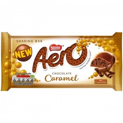 Nestle Aero Chocolate Caramel 15 x 100g