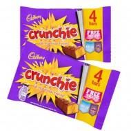 Cadbury Crunchie Multipack: 10-Piece Box