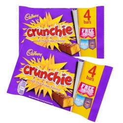 Cadbury Crunchie Multipack: 10-Piece Box