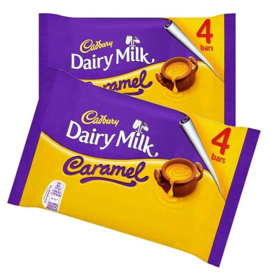 Cadbury Dairy Milk Caramel Multipack: 15-Piece Box