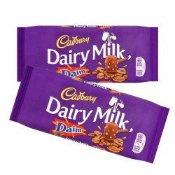 Cadbury Dairy Milk Daim Bar 18 x 120g