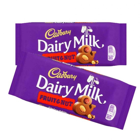 Cadbury Dairy Milk Fruit & Nut Tablet 18 x 110g