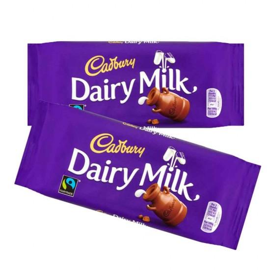 Cadbury Dairy Milk Plain Tablet 21 X 110g