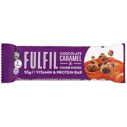 Fulfil Chocolate Caramel Cookie Dough Protein Bar 15 x 55g