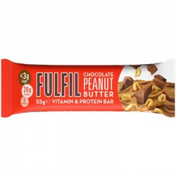 Fulfil Chocolate Peanut Butter Protein Bar 15 x 55g