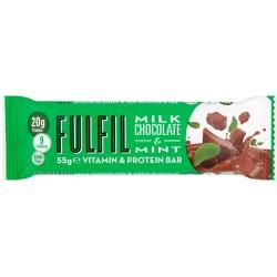 Fulfil Milk Chocolate & Mint Protein Bar 15 x 55g