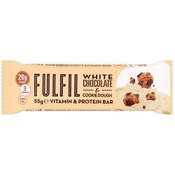 Fulfil White Chocolate Cookie Dough Protein Bar 15 x 55g