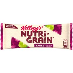 Kellogg's Nutrigrain Bakes Raisin 24 x 45g