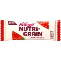 Kellogg's Nutrigrain Strawberry Bar 25 x 37g