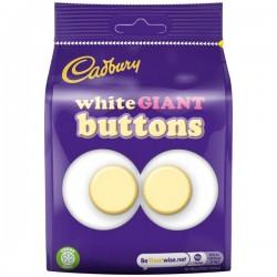 Cadbury Giant White Buttons 10 x 110g