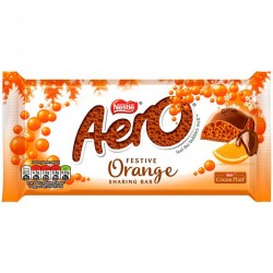 Aero Festive Orange Bar 15 x 90g