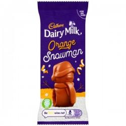 Cadbury Dairy Milk Orange Snowman 33 x 30g