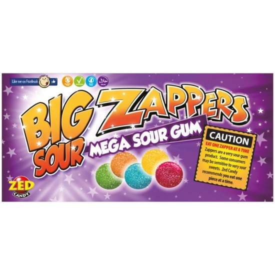 Zappers Gum 30 x 35g