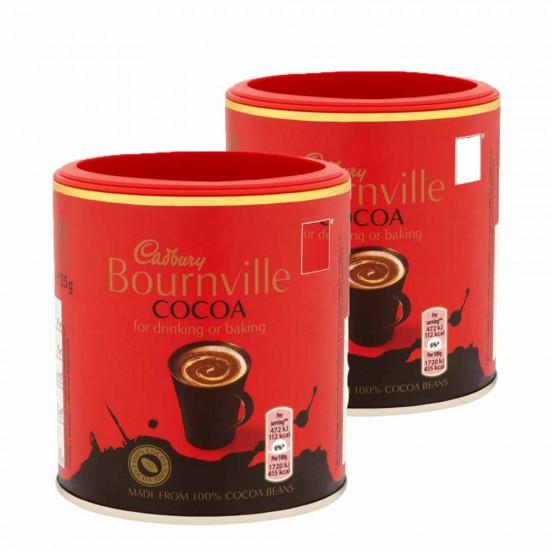 Cadbury Bourneville Cocoa: 12-Piece Box