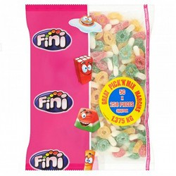 Fini Fizzy Dummies: 250-Piece Bag