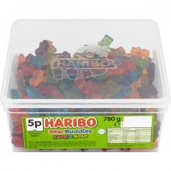 Haribo Bear Buddies 120 Pieces