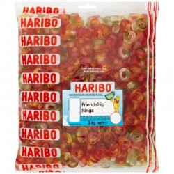 Haribo Friendship Rings 3kg