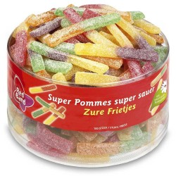 Red Band Super Sour Chips: 100-Piece Tub