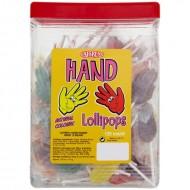 Caffreys Hand Lollipops 125 Pieces