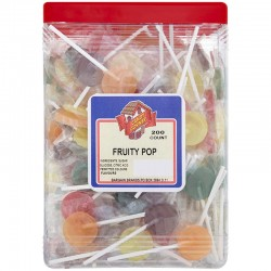 Candy Corner Fruity Pops 200 Pieces