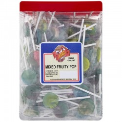 Candy Corner Mixed Fruity Pops 200 Pieces