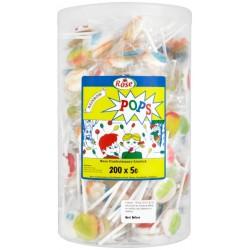 Rainbow Lollies: 200-Pieces