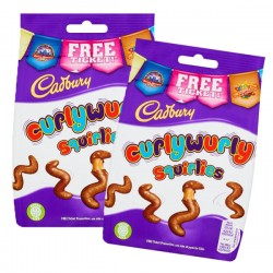 Cadbury Curly Wurly Squirlies: 10-Piece Box