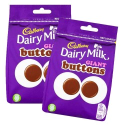 Cadbury Dairy Milk Giant Buttons 10 x 119g