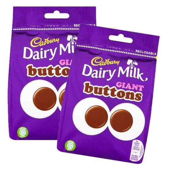Cadbury Dairy Milk Giant Buttons 10 x 119g