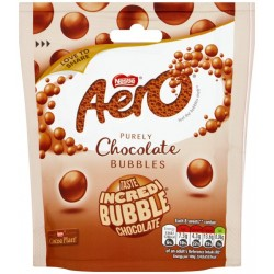 Nestle Aero Chocolate Bubbles 8 x 102g