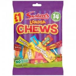 Swizzels Loadsa Chews 12 x 135g