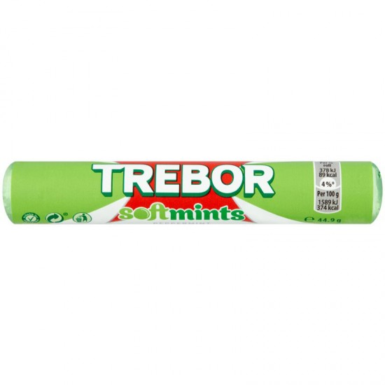 Trebor Softmints Peppermint 40 x 45g