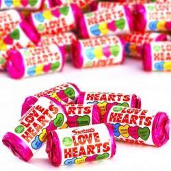 Swizzels Love Hearts Mini Rolls 3kg